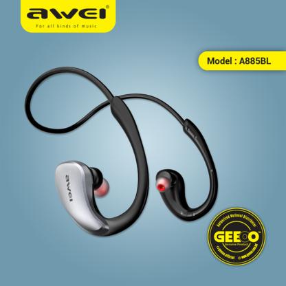 Awei A885BL Sports Waterproof Bluetooth Headphone png