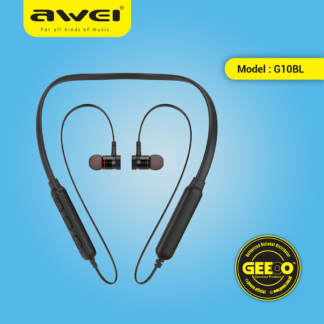 Awei G10BL Bluetooth Sports Earphones Magnetic Absorption Earbuds PNG
