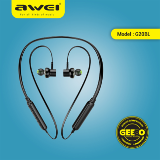 Awei G20BL Sports Bluetooth Earphone Magnetic Adsorption Earbuds