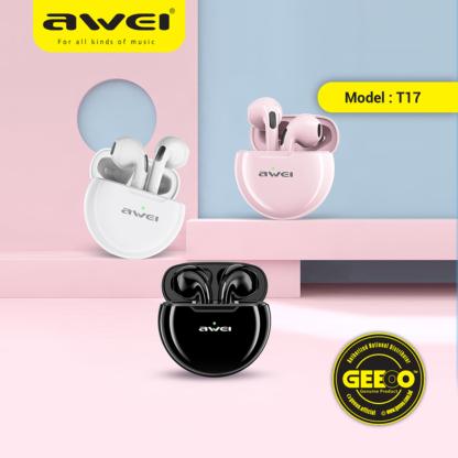 AWEI T17 TWS Wireless True Sports Earbuds Bluetooth Headphone