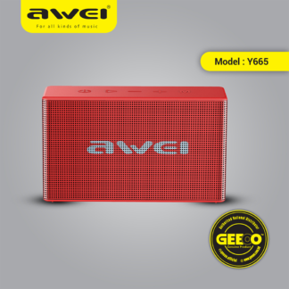 Awei Y665 Waterproof Mini Portable Outdoor Wireless Bluetooth Speaker Support TWS Play Speakers