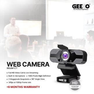 Geeoo C1 Full HD Video Call & Live Streaming Web Camera